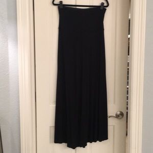 BCBGmaxazria black knit skirt